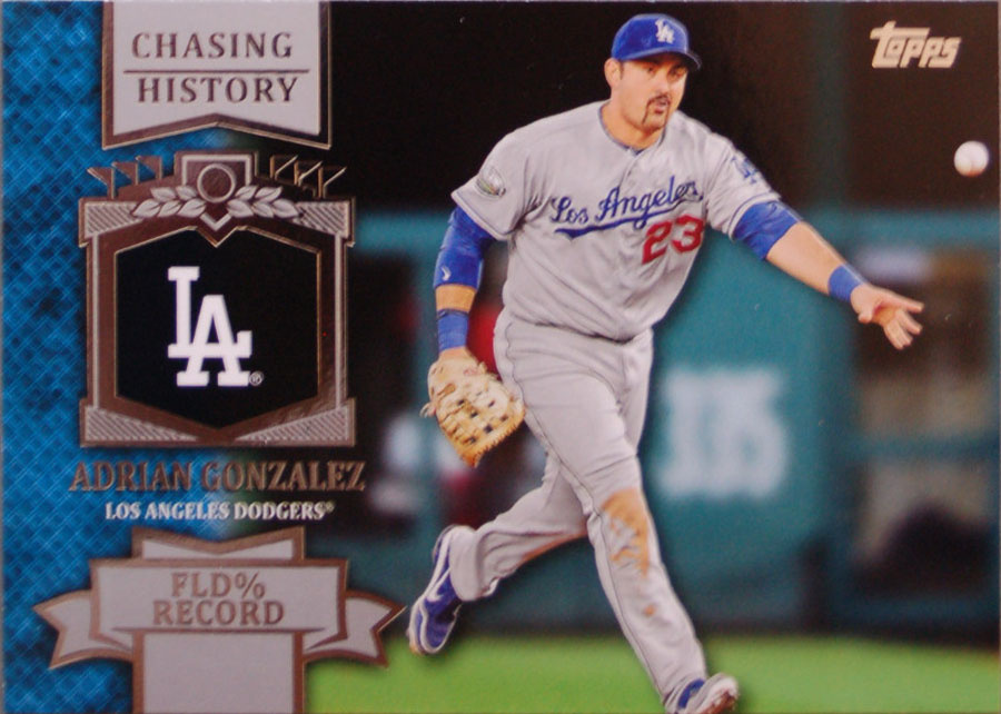 Dodgers Blue Heaven 2013 Topps Series 2 Chasing History