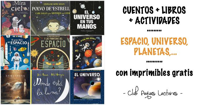 cuentos infantiles, libros conocimientos informativos espacio, universo planetas