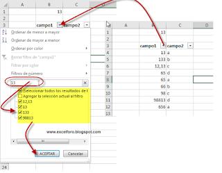 VBA: Filtrar Números que contengan ciertos dígitos
