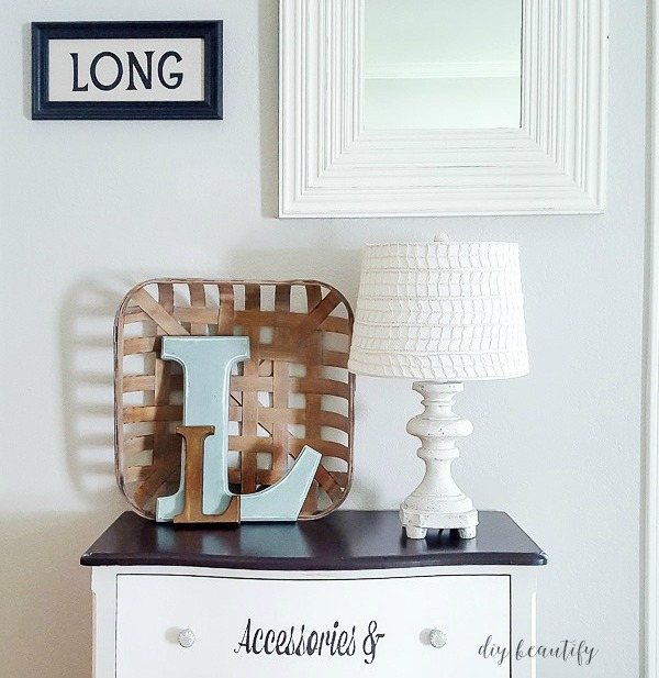 neutral lamp makeover