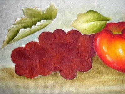 pintura em tecido uvas passo a passo como pintar