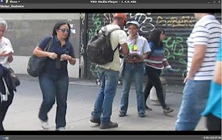 """Videoperformance """"En Los Zapatos de Otro"""" por Gladys Calzadilla"""