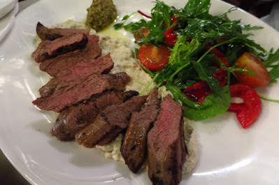 Melbourne, Hopetoun Tea Rooms, lamb fillet