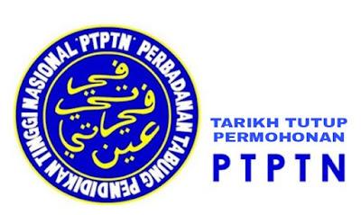 Jadual Tarikh Tutup Permohonan Pinjaman PTPTN 2018