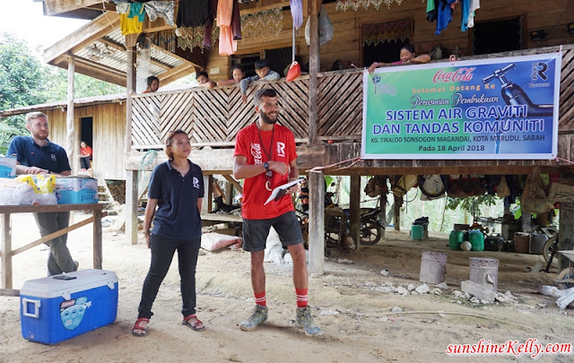 Clean Water For Communities Project, Raleigh International, Raleigh Borneo, Raleigh, Coca-Cola Malaysia, Coca-Cola, Kampung Tikalod, Sabah, sabah remote village, sabah poor village, sabah water project, sabah sanitation project