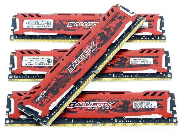 Crucial Ballistix Sport LT DDR4-2400 32GB Kit