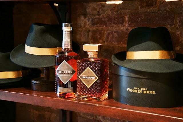 I.W. Harper Bourbons and Goorin Bros Harper Fedora