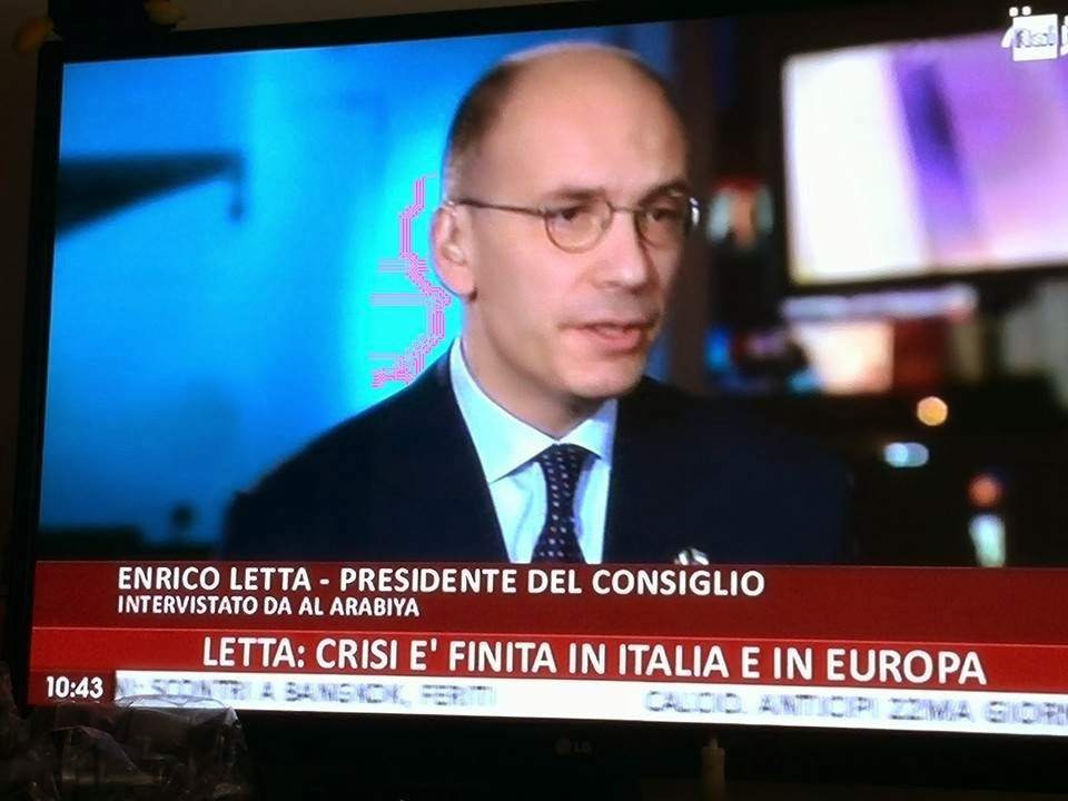 Letta: la crisi in Italia ed Europa è finita