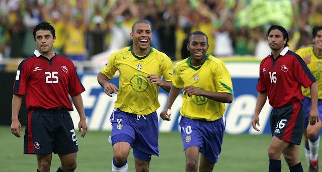 Brasil y Chile en Clasificatorias a Alemania 2006, 4 de septiembre de 2005