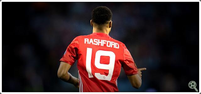Marcus Rashford Manchester United 19