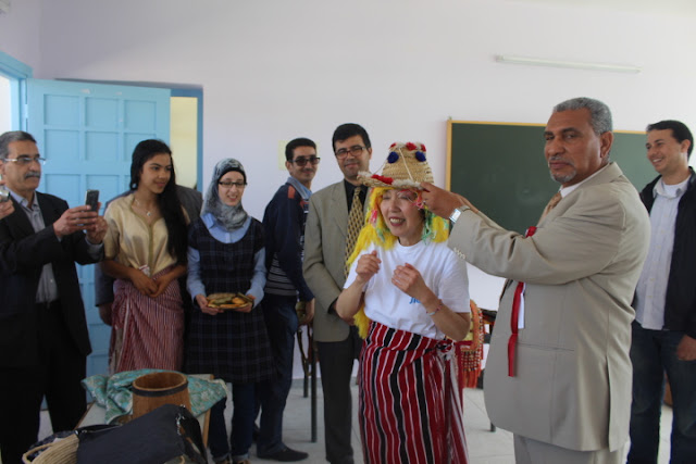 فعاليات اليوم الثقافي المغربي الياباني بمديرية مولاي يعقوب السبت 23 ابريل 2016