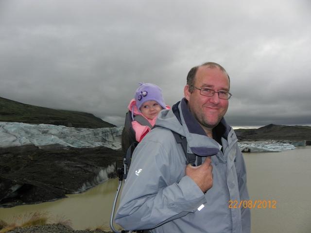 Mochila porta bebe para trekking