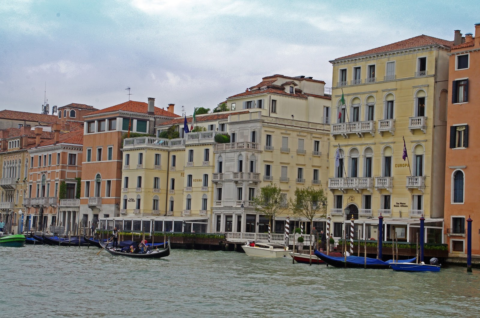 View of Grand Canal from Westin Europa & Regina Venice