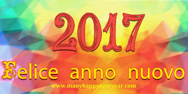 Happy New Year 2017 Wishes in Italian