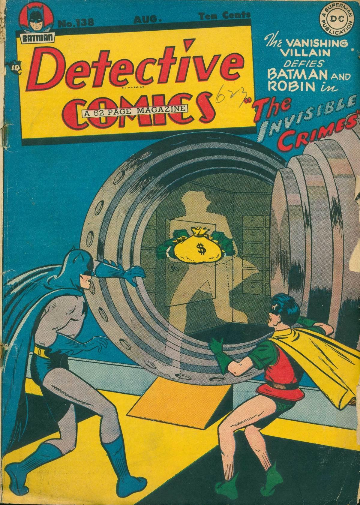 Detective Comics (1937) 138 Page 1