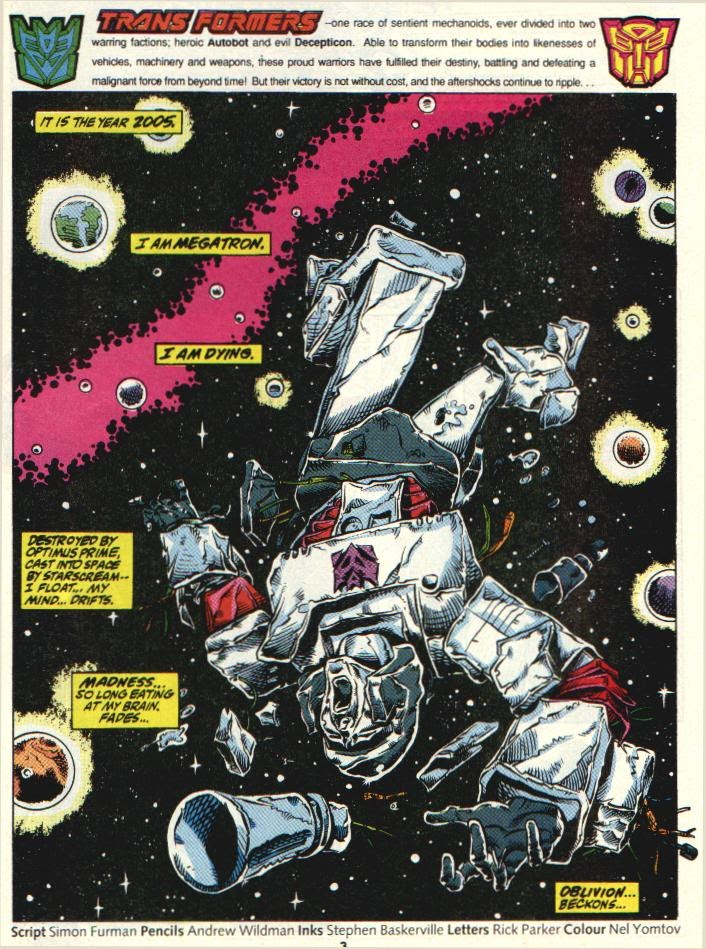 The Transformers (UK) 327 Page 2