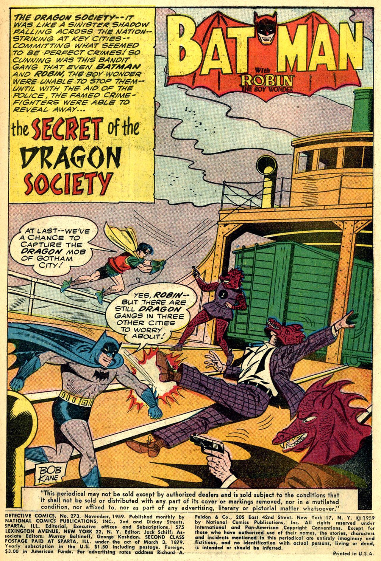 Detective Comics (1937) 273 Page 2