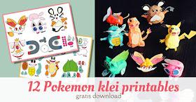 pokemon play doh printables