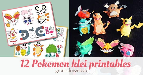 pokemon play doh printables