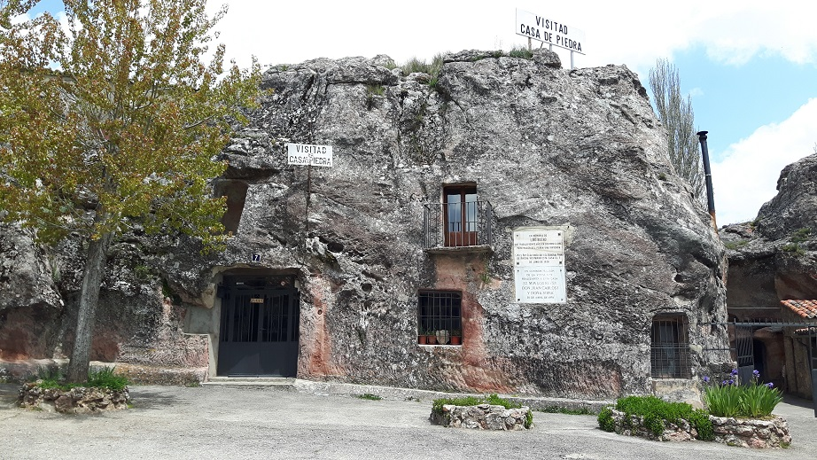 Turismo Por Guadalajara Casa De Piedra De Alcolea Del Pinar