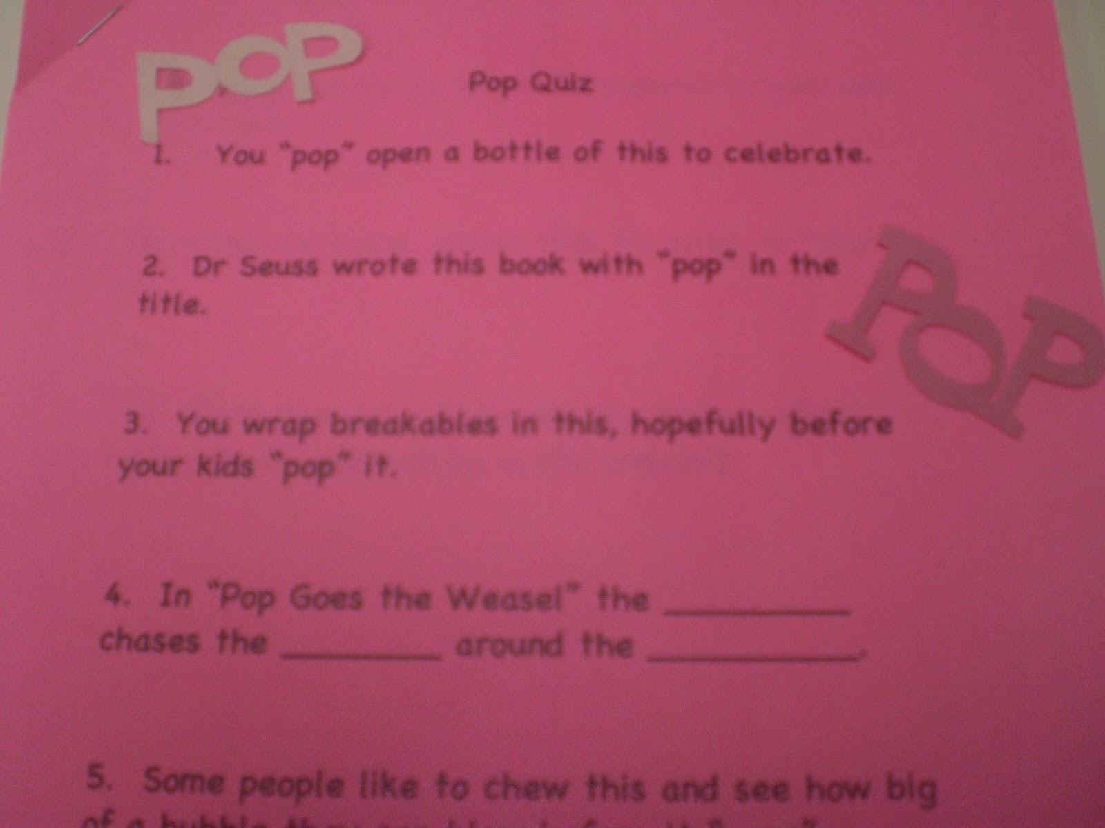 Michelle Paige Blogs Pop Baby Shower