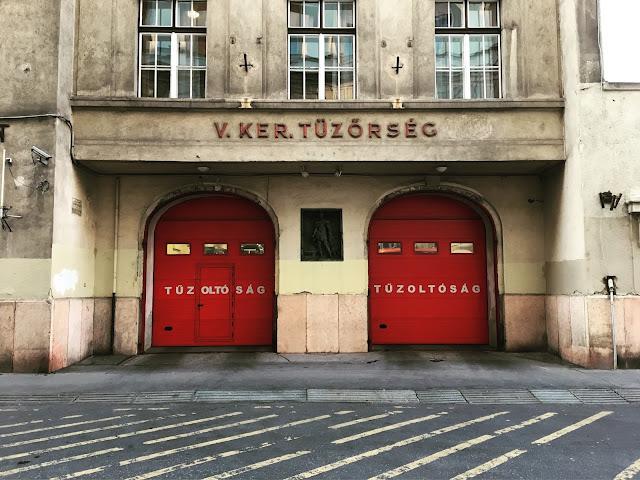 budapest fire station
