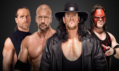 WWE Crown Jewel Undertaker Kane HBK DX Triple H  HHH Shawn Michaels Tag