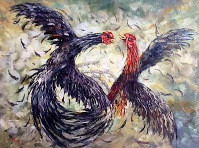 Lukisan Ayam Affandi