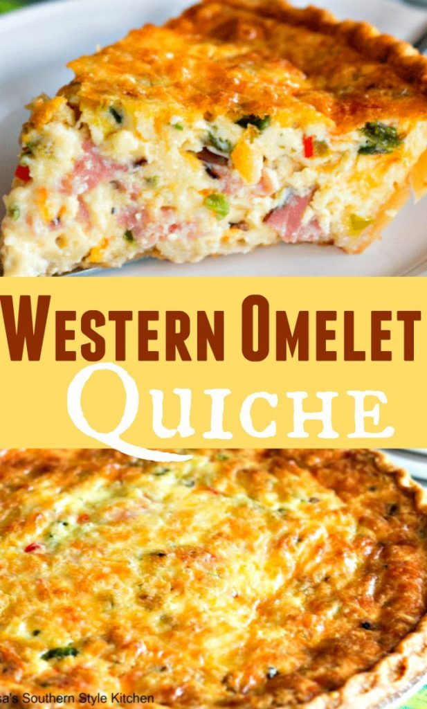 Easy Western Omelet Quiche