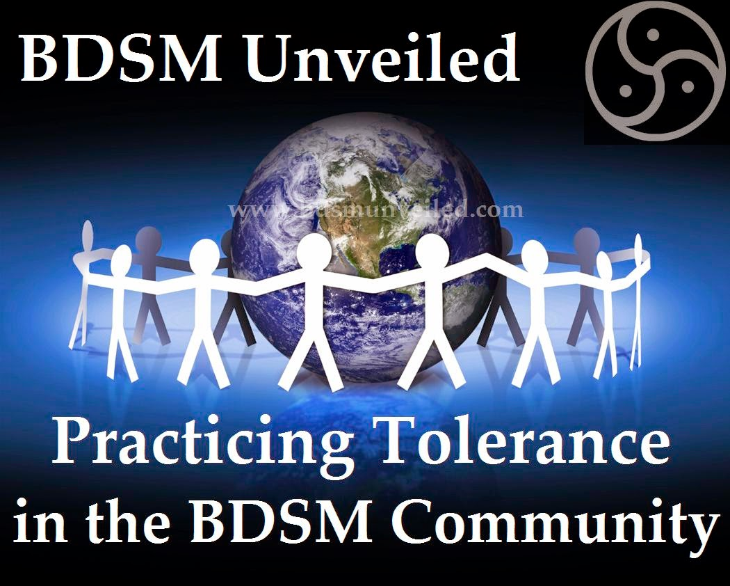Practicing Tolerance in BDSM