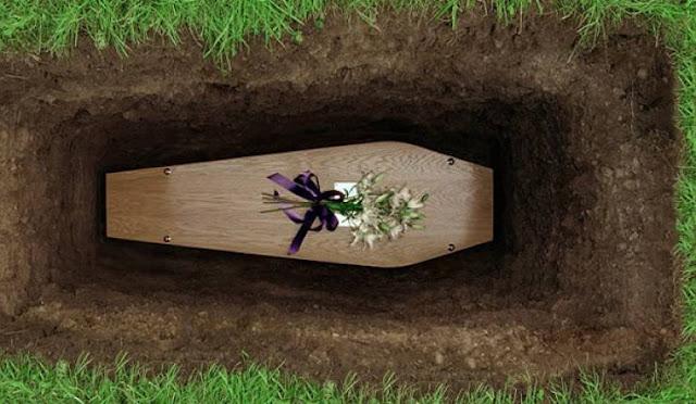رجل أعمال روسى يخرج من قبره بعد دفنه حيا