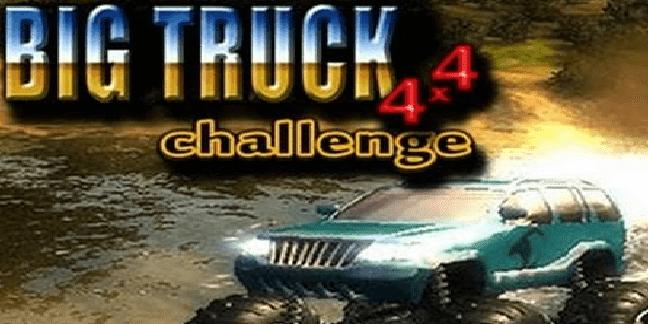 تحميل لعبة السيارات big truck 4x4 challenge برابط مباشر وحجم صغير