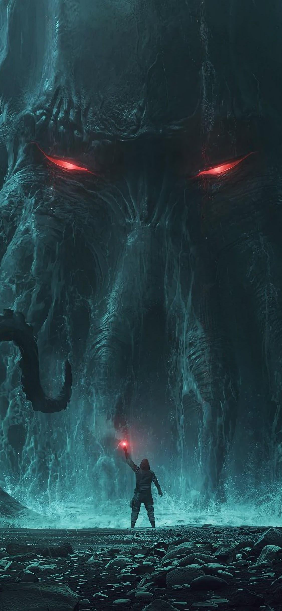 Fantasy Monster Cthulhu 4k Wallpaper 158