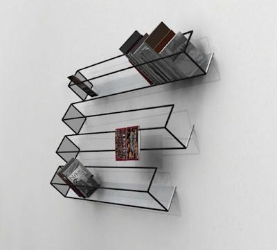 diseño de estante muy creativo