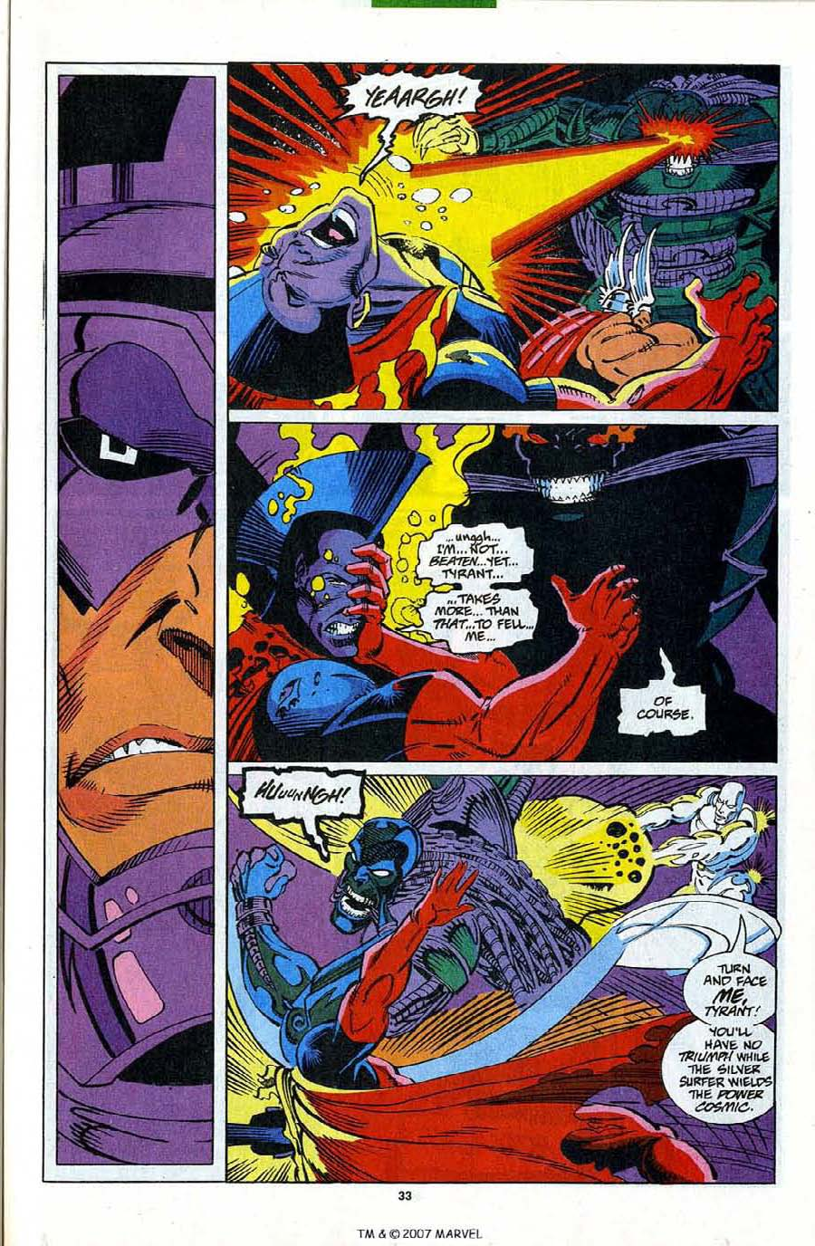 Read online Silver Surfer (1987) comic -  Issue #82 - 35