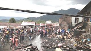 18 Rumah Musnah Terbakar di Aceh Tengah dan Abdya