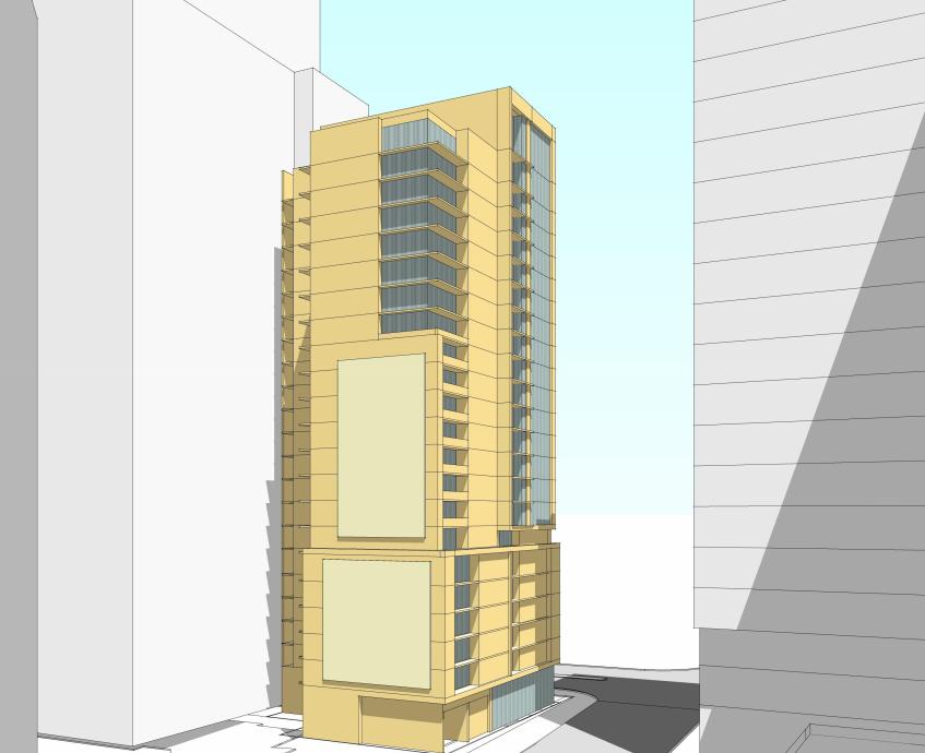 Condos After Dark 100 Wisconsin Avenue >> Robert Dyer Bethesda Row Donohoe Proposes 22 Story Condo Tower At