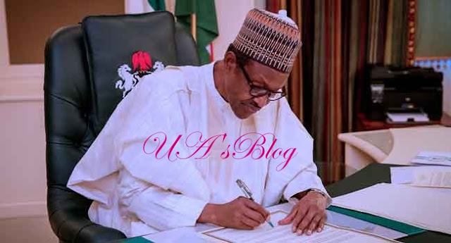 WATCH VIDEO : Buhari finally signs appropriations bill into law