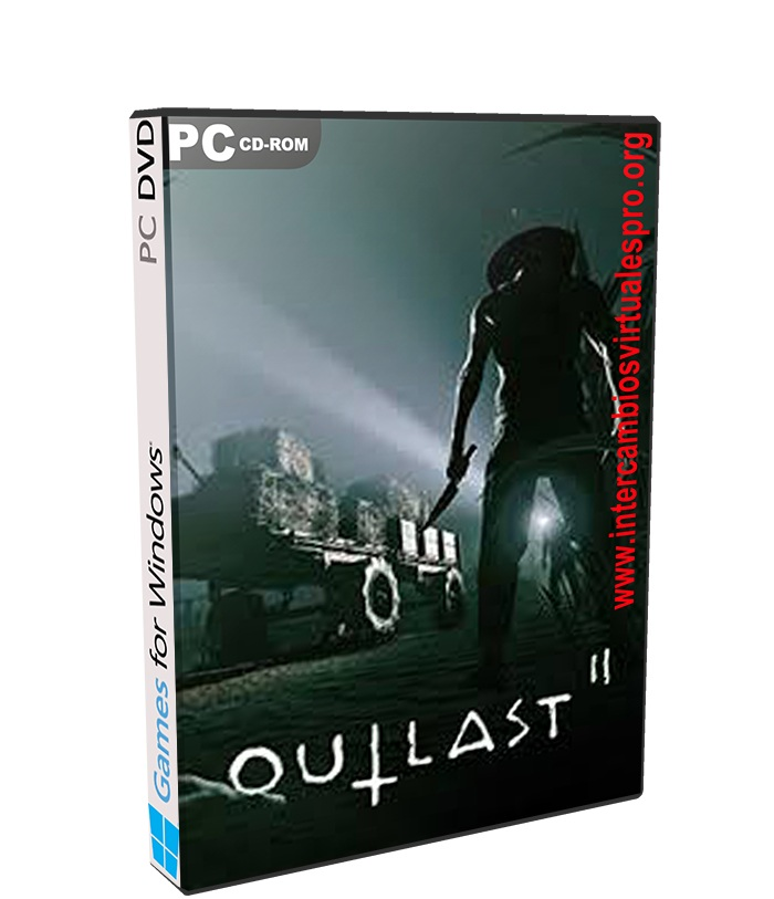 Outlast 2 poster box cover