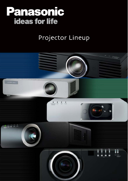lcd projector panasonic
