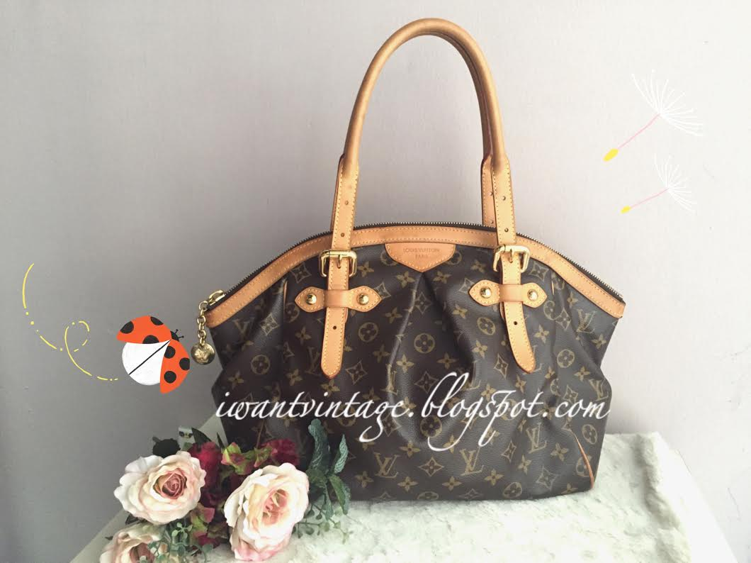 Louis Vuitton Tivoli Vs Palermo I Want Vintage Vintage Designer Handbags Louis Vuitton Tivoli Gm