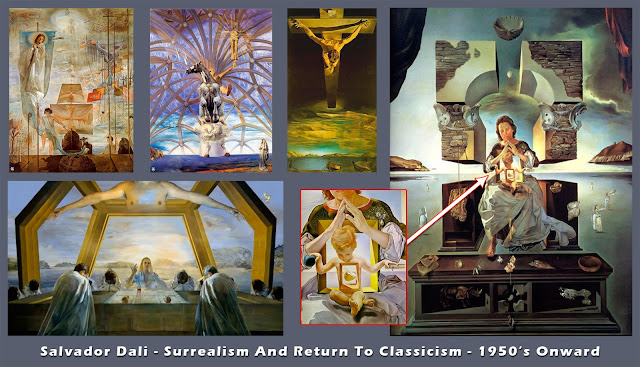 Salvador Dali - Surrealism And Return To Classicism - 1950's Onward