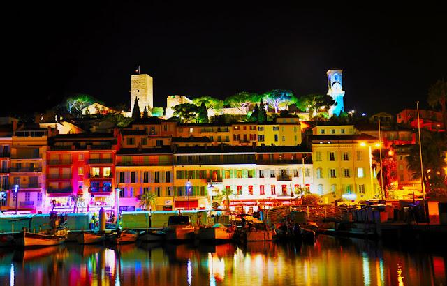 O que fazer a noite em Cannes