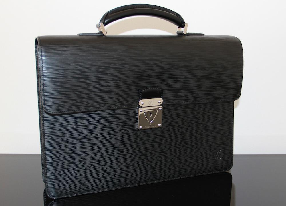 luxury watches news blog louis vuitton robusto briefcase black epi leather. Black Bedroom Furniture Sets. Home Design Ideas
