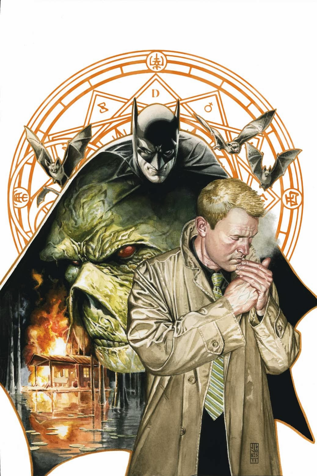 fashion and action  john constantine