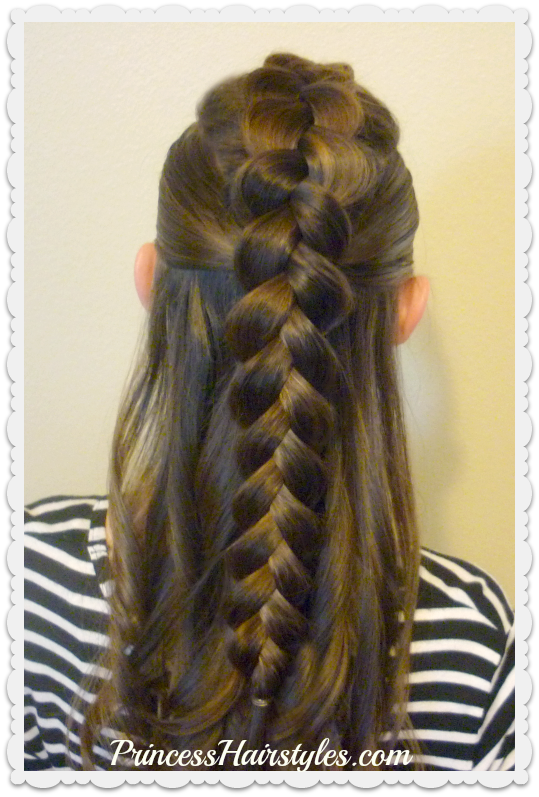 4 Easy Hairstyles For School Cute And Heatless Part 3