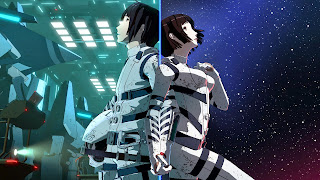 Piękna tapeta Full HD z anime Knights of Sidonia