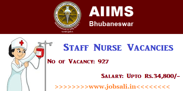 AIIMS Staff Nurse Recruitment 2017, Govt Staff Nurse Jobs,