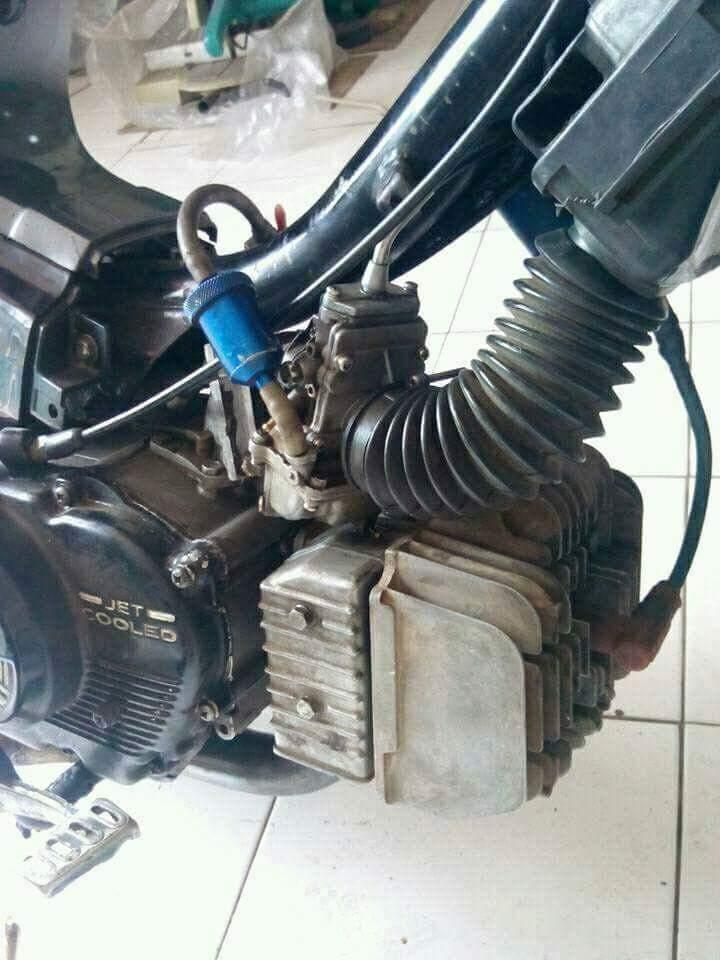Modifikasi Rc 100 : modifikasi, Modifikasi, Piston, Satria, Huruf