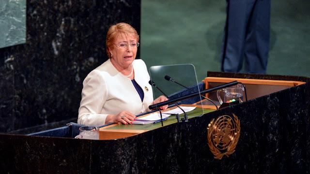 Michelle Bachelet, confirmada como jefa de DD.HH. de la ONU
